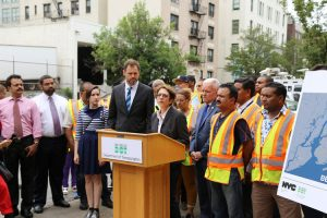 """""""We mark this occasion today with true sadness,"""" said DOT Commissioner Polly Trottenberg."""