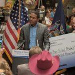 Councilmember Ritchie Torres announced $108,000 in funding.