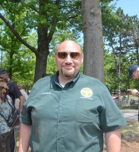 """""""Es un gran día"""", dijo el director de Asuntos Comunitarios del DSNY, Iggy Terranova."""