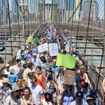 Tens of thousands marched. Photo: C. Vivar