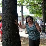 """""""Es su vecindario"""", dijo la comisionada de Parques del Bronx, Iris Rodríguez-Rosa."""