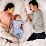 Co-sleeping can pose risks.
