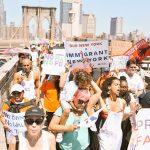 A battalion marches to Brooklyn.