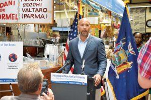 """The numbers don't lie,"" said Bronx Borough President Rubén Díaz Jr."
