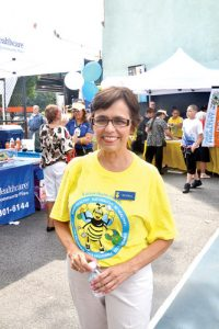 """""""Me complace brindar información"""", dijo Elvira Rella, directora de nutrición de la UHP."""