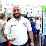 """""""Estoy muy animado de hacer esto por mi comunidad"""", dijo el concejal Rafael Salamanca."""
