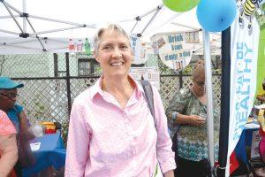 """""""Tratamos de mejorar la salud del Bronx con la gente"""", dijo Jane Bedell, comisionada asistente de salud."""