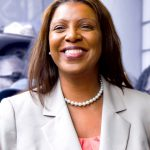 City Public Advocate Letitia (Tish) James.