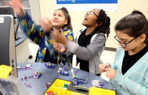 The grant will target students focused on STEM work.