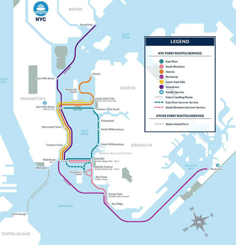 Soundview ferry route to launch August 15Ruta del ferry de