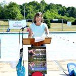 """""""El sistema de parques es un lugar excepcional para que los niños aprendan nuevas habilidades"""", dijo la comisionada Rose Harvey."""