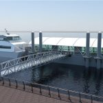 A rendering of the ferry landing. Photo: NYCEDC