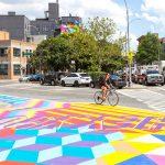 El programa de arte del DOT embellece espacios públicos. Foto: NYC DOT