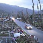 Hurricane María's devastation.