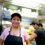Evelia Coyotzi of Evelia's Tamales Mexicanos is a Best Breakfast Vendor finalist.