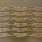 Eighteen new names have been added to the World Trade Center Memorial Wall at FDNY headquarters.