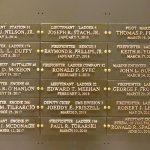 Se agregaron dieciocho nuevos nombres al Muro Conmemorativo del World Trade Center en la sede del FDNY.