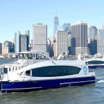 The city's ferry service has maintained an on-time performance of 91.9 percent.
