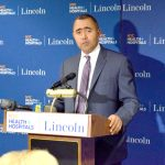 """""""It's incredibly important that we have the latest technology available to our patients,"""" said NYC Health + Hospitals/Lincoln CEO Milton Núñez."""