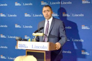 """It's incredibly important that we have the latest technology available to our patients,"" said NYC Health + Hospitals/Lincoln CEO Milton Núñez."