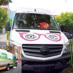La furgoneta de visión.