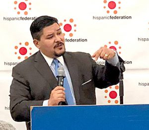 """I could care less about the haters out there,"" says DOE Chancellor Richard Carranza."