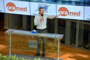 """El director general de Oramed, Nadav Kidron, dice que el medicamento podría ser el """"Santo Grial de la atención de la diabetes""""."""
