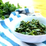 Kale and collard greens both contain substantial servings of vitamin K and vitamin A.