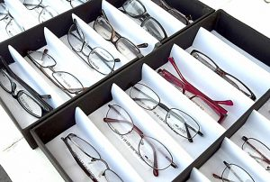 If eyeglasses were needed, students can select frames of their choice.