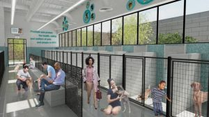 The proposed shelter is expected to accommodate 260 animals.