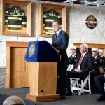 """Michael Fahy didn't just rise through the ranks — he soared,"" said Fire Commissioner Daniel Nigro."