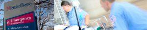 Las salas de emergencia de Montefiore atendieron a más de 350,000 pacientes el año pasado.