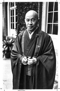 Zen master Shunryu Suzuki.