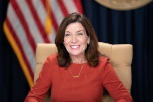 La gobernadora Kathy Hochul