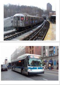 bus and subway